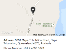 Cape Tribulation Horse Rides map